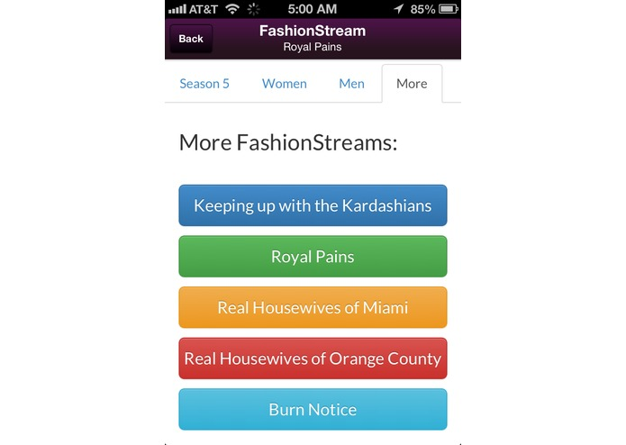 FashionStream – screenshot 4
