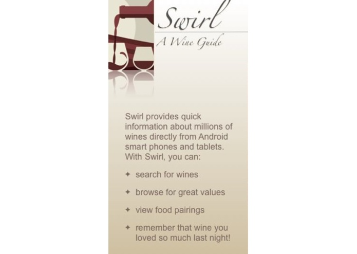 Swirl - A Wine Guide – screenshot 1