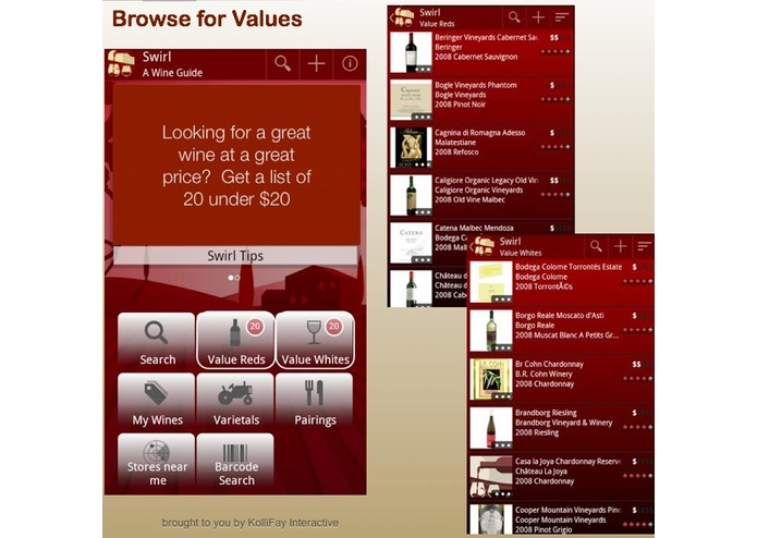 Swirl - A Wine Guide – screenshot 3