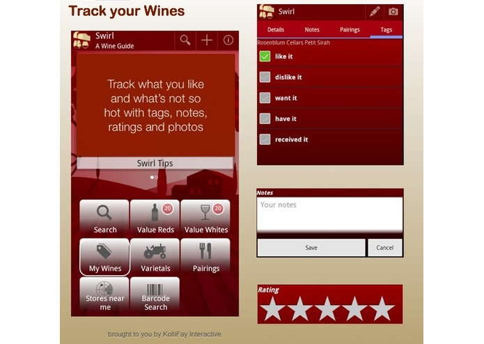 Swirl - A Wine Guide – screenshot 4