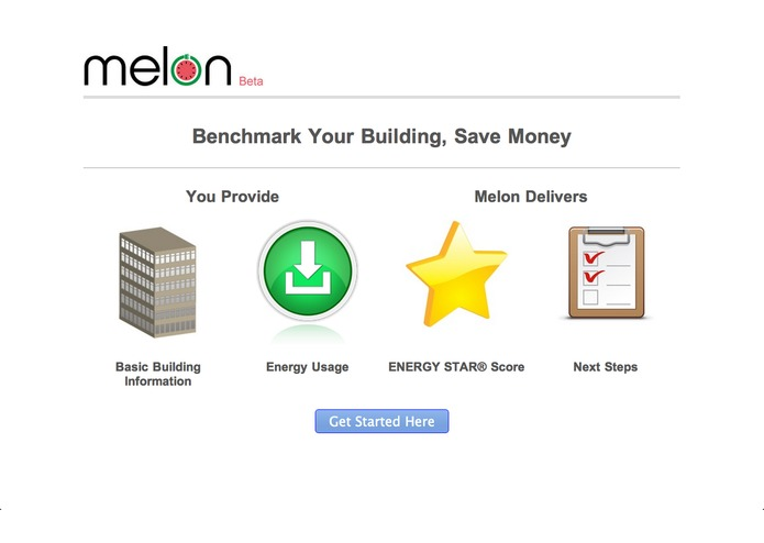Melon: ENERGY STAR Green Button Benchmark – screenshot 1