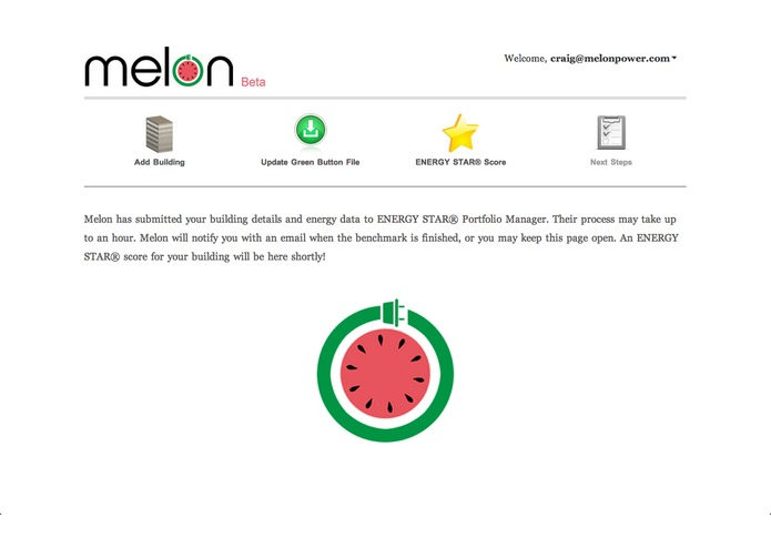 Melon: ENERGY STAR Green Button Benchmark – screenshot 5