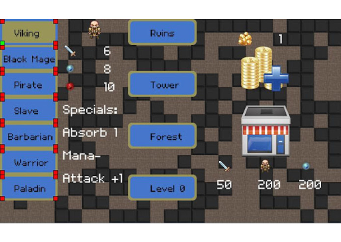 Mobile Dungeons Roguelike RPG – screenshot 1