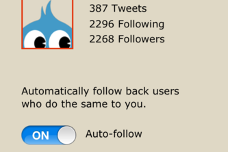 TwitQuit - Track who follows and unfollows you on Twitter