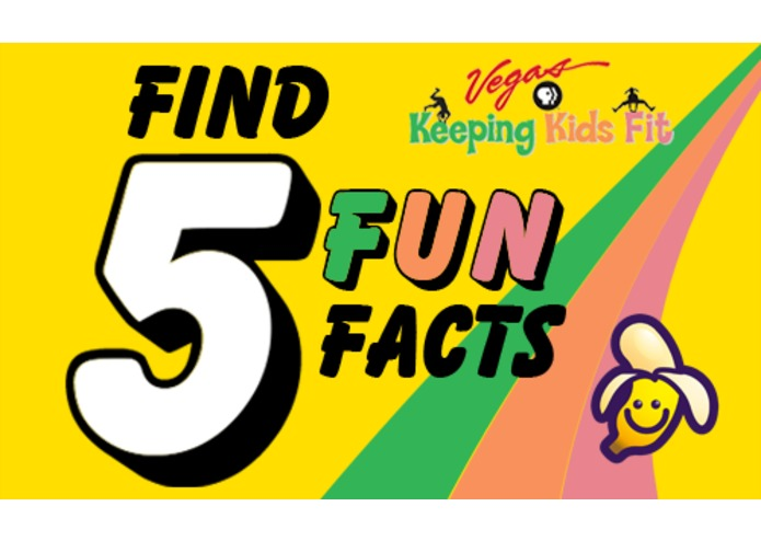 "Keeping Kids Fit ""Find 5 Fun Facts"" – screenshot 1"