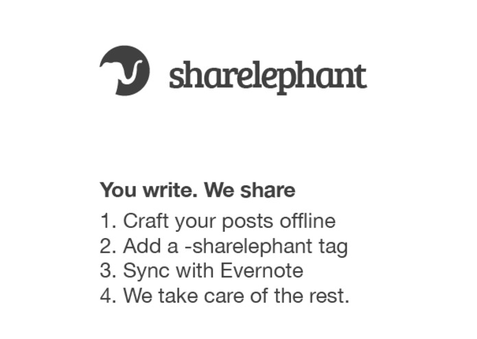 sharelephant – screenshot 1
