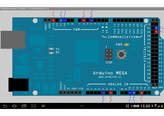 ArduinoCommander – screenshot 4