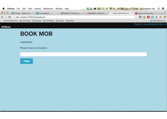 BookMob – screenshot 1