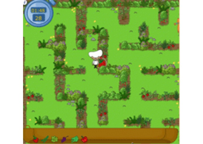 Healthy Harvest Maze Game – screenshot 1