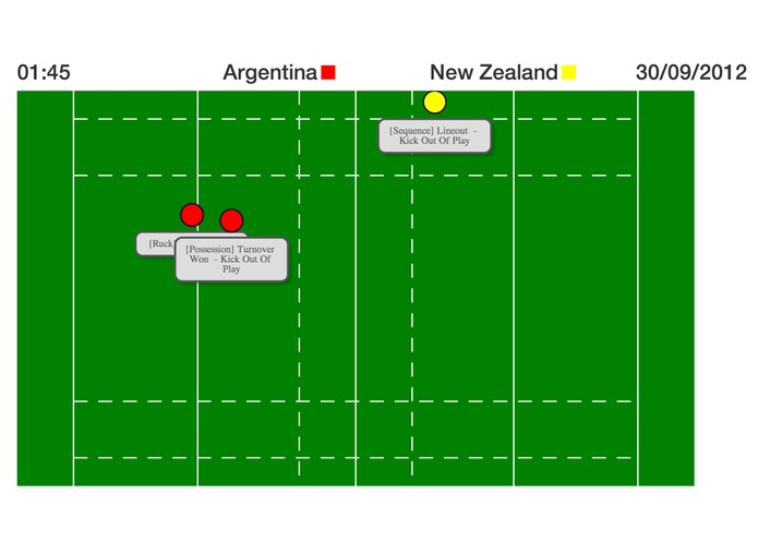 Rugby Match Replay – screenshot 1