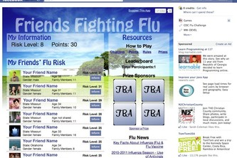 Friends Fighting Flu