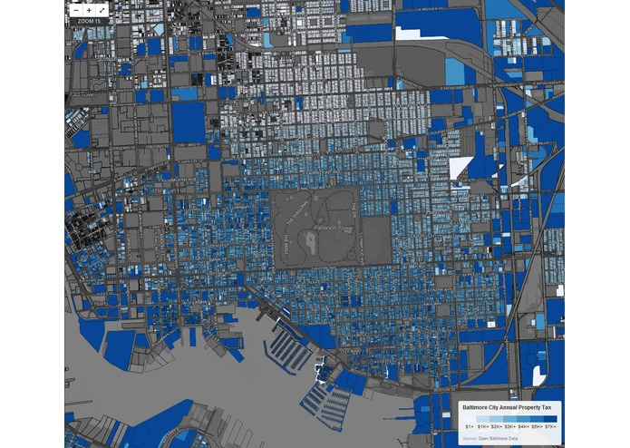 Baltimore City Property Tax Map – screenshot 2