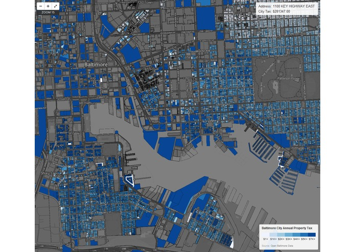 Baltimore City Property Tax Map – screenshot 3