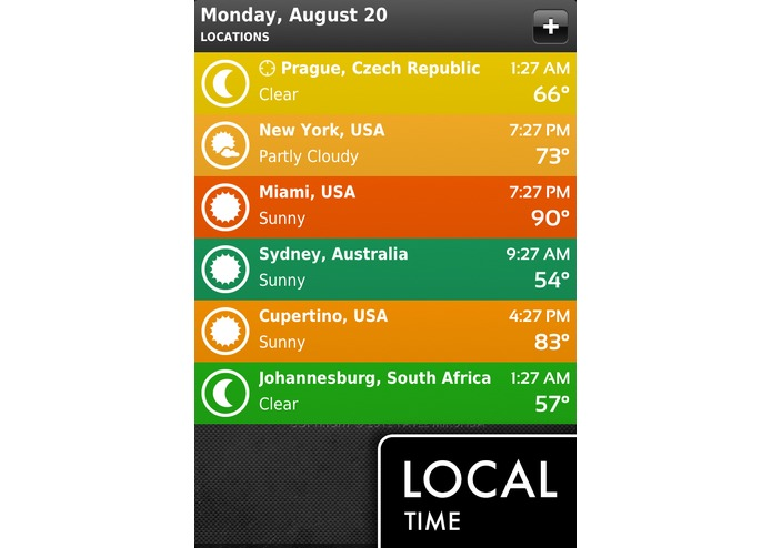 ClearWeather for iPhone – screenshot 5