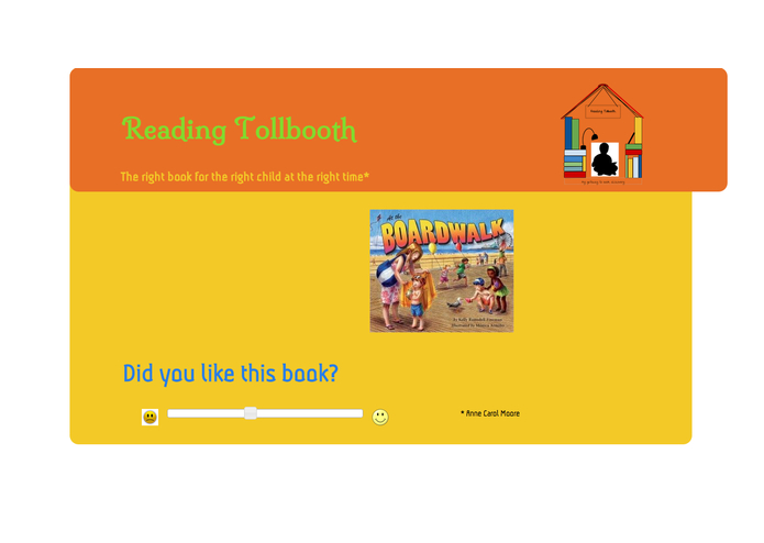 Reading Tollbooth: A Gateway to Book Discovery – screenshot 1