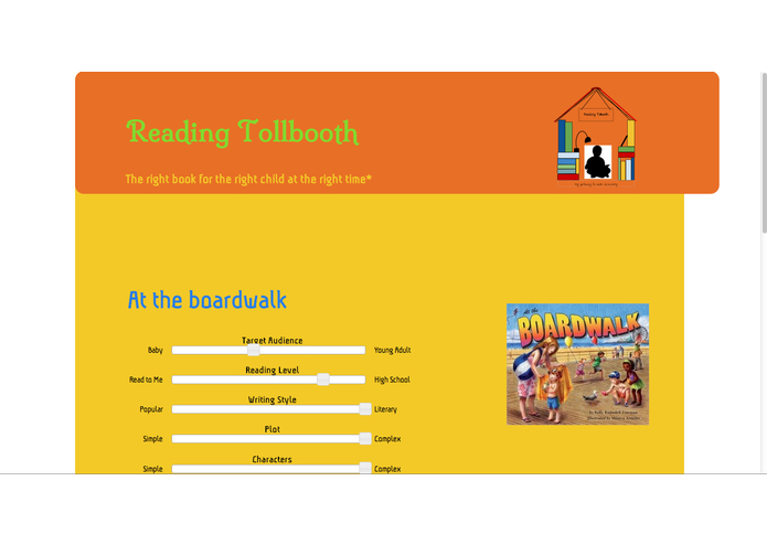 Reading Tollbooth: A Gateway to Book Discovery – screenshot 2