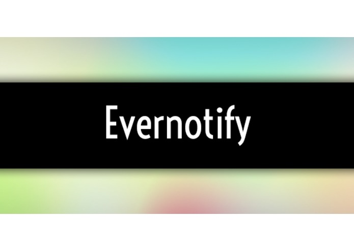 Evernotify - Evernotes meet Notifications – screenshot 1