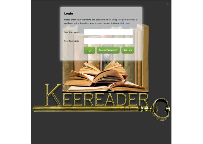 KEeReader – screenshot 2
