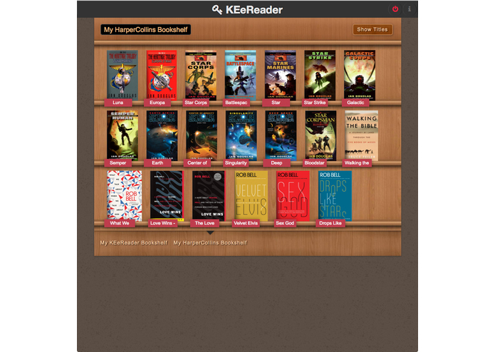 KEeReader – screenshot 3