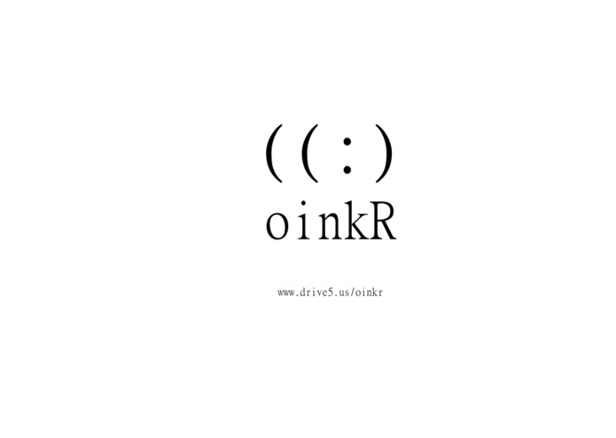 oinkR – screenshot 1