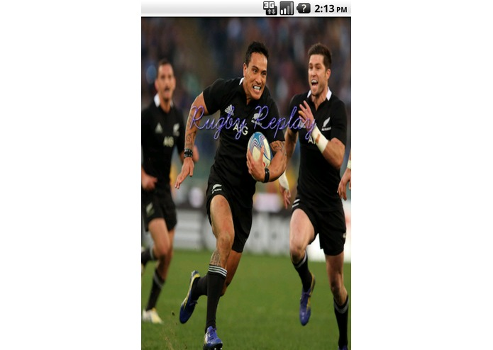 Rugby Replay – screenshot 1
