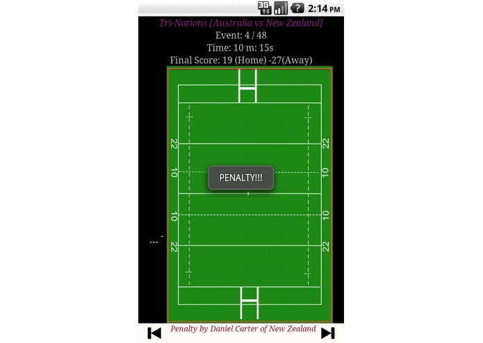 Rugby Replay – screenshot 4
