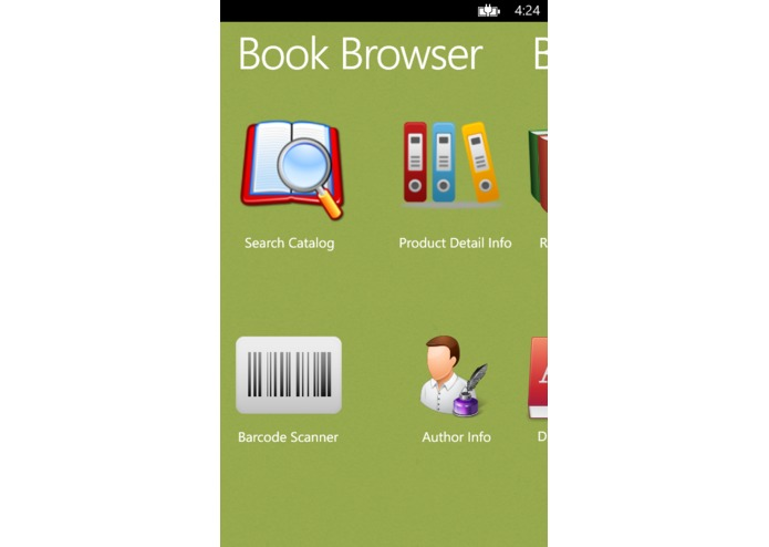 BookBrowser – screenshot 1