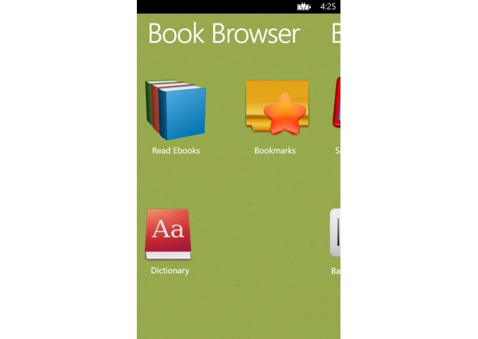BookBrowser – screenshot 2