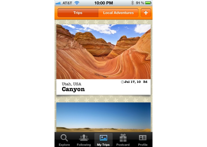 TripColor - Social Travel Blogging – screenshot 1