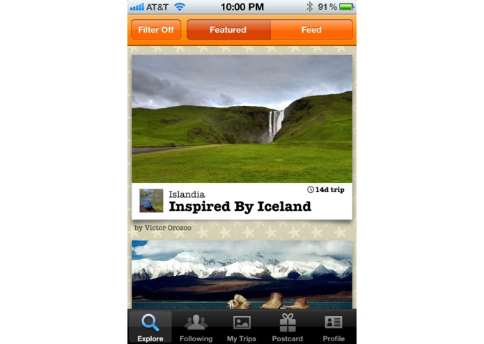 TripColor - Social Travel Blogging – screenshot 2