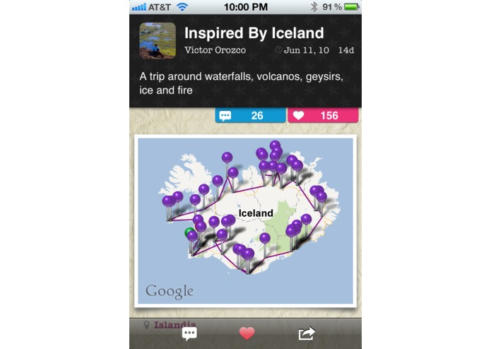TripColor - Social Travel Blogging – screenshot 3