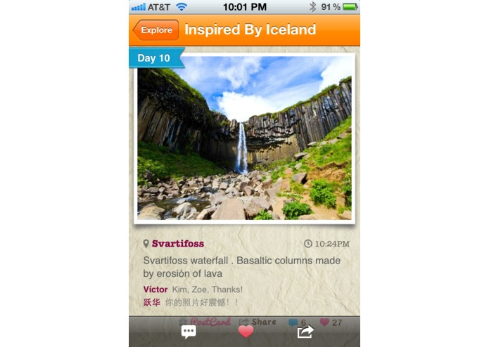 TripColor - Social Travel Blogging – screenshot 4