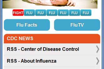 'DETECTAFLU'  Flu Awareness web application