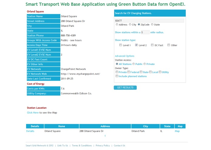 Smart Transport at SmartGrid.com – screenshot 4