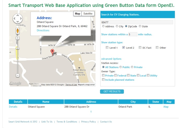 Smart Transport at SmartGrid.com – screenshot 5