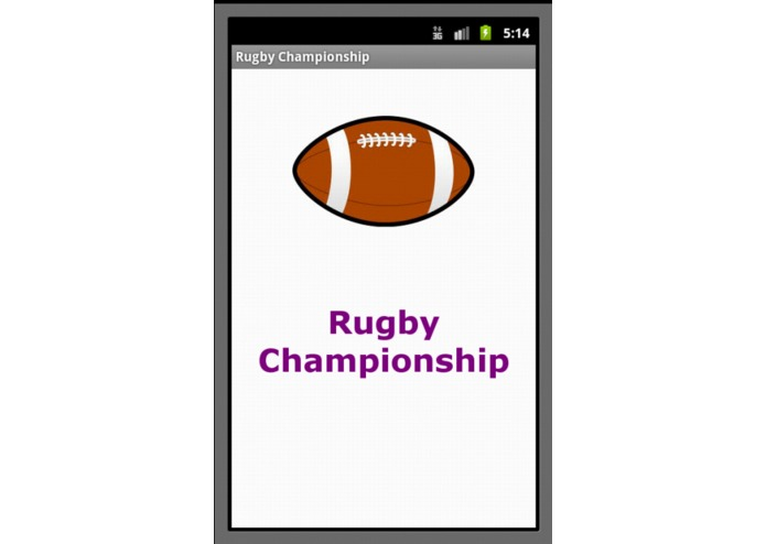 Rugby Championship – screenshot 1