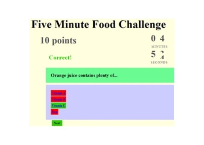 Five Minute Food Challenge – screenshot 1