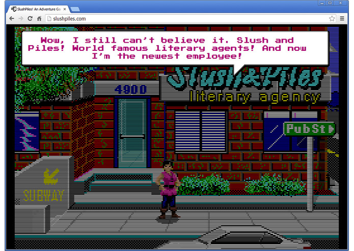 SlushPiles! An Adventure Game of Literary Agentry – screenshot 3