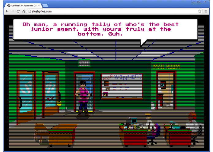 SlushPiles! An Adventure Game of Literary Agentry – screenshot 4