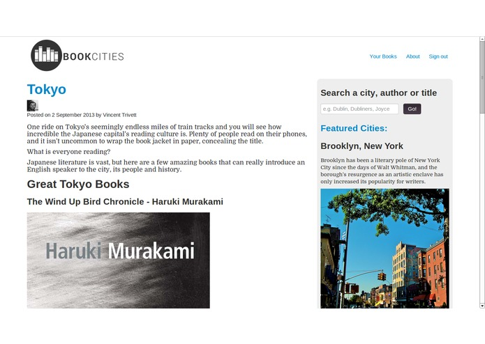 BookCities – screenshot 3