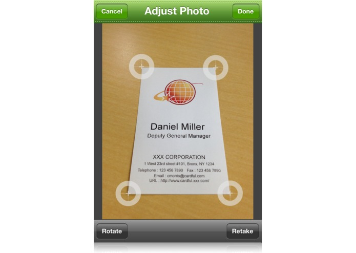 Cardful for Evernote -Business Card Manager- – screenshot 2