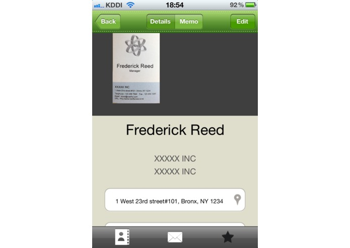 Cardful for Evernote -Business Card Manager- – screenshot 3