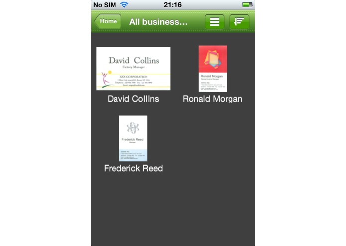 Cardful for Evernote -Business Card Manager- – screenshot 4