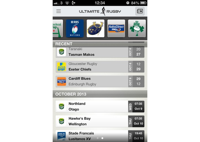 Ultimate Rugby – screenshot 2