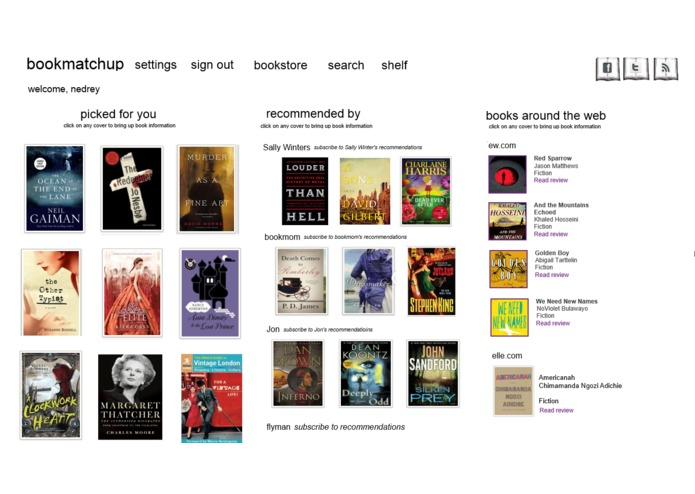 bookmatchup – screenshot 3