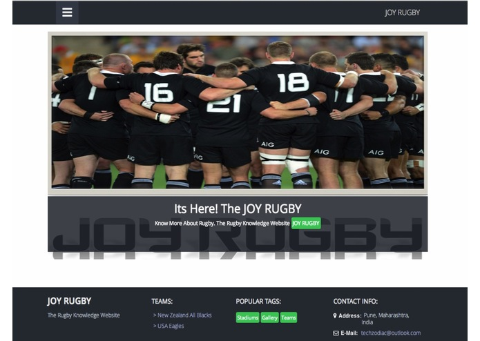 JoyRugby – screenshot 1