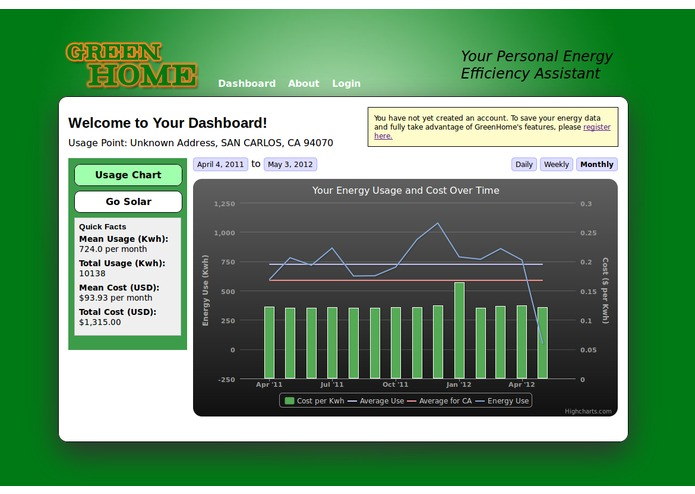 GreenHome.com – screenshot 1