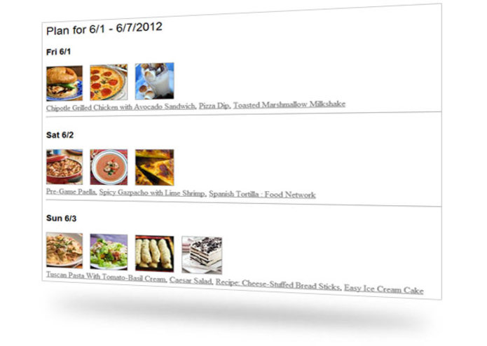 Evernote Visual Cookbook and Meal Planner – screenshot 2