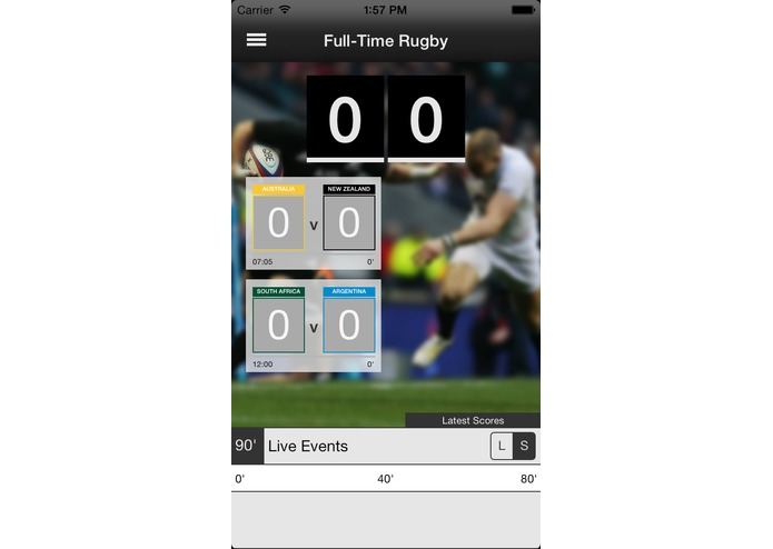 Full-Time Rugby – screenshot 3
