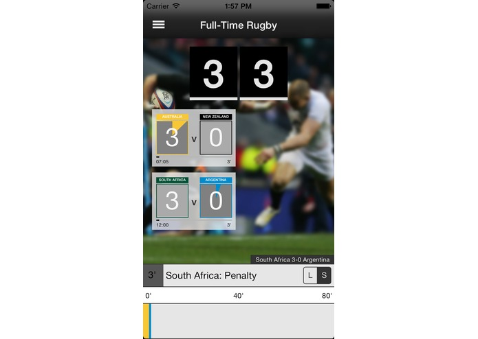 Full-Time Rugby – screenshot 4